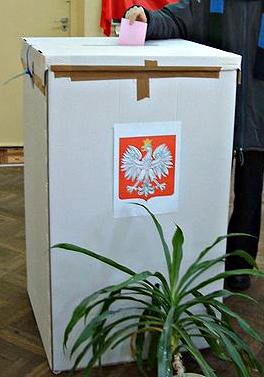 Wahlgang in Polen, Referendum Ornet, Foto: Radomil, GFDL